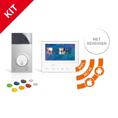 BTICINO_videofoon_kit_kleur_met_geheugen_en_WIFI