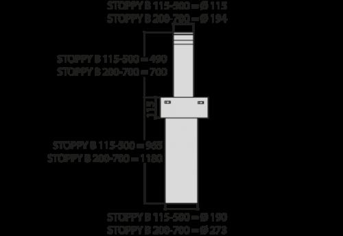 BFT STOPPY B